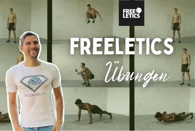 Freeletics Übungen Titelbild