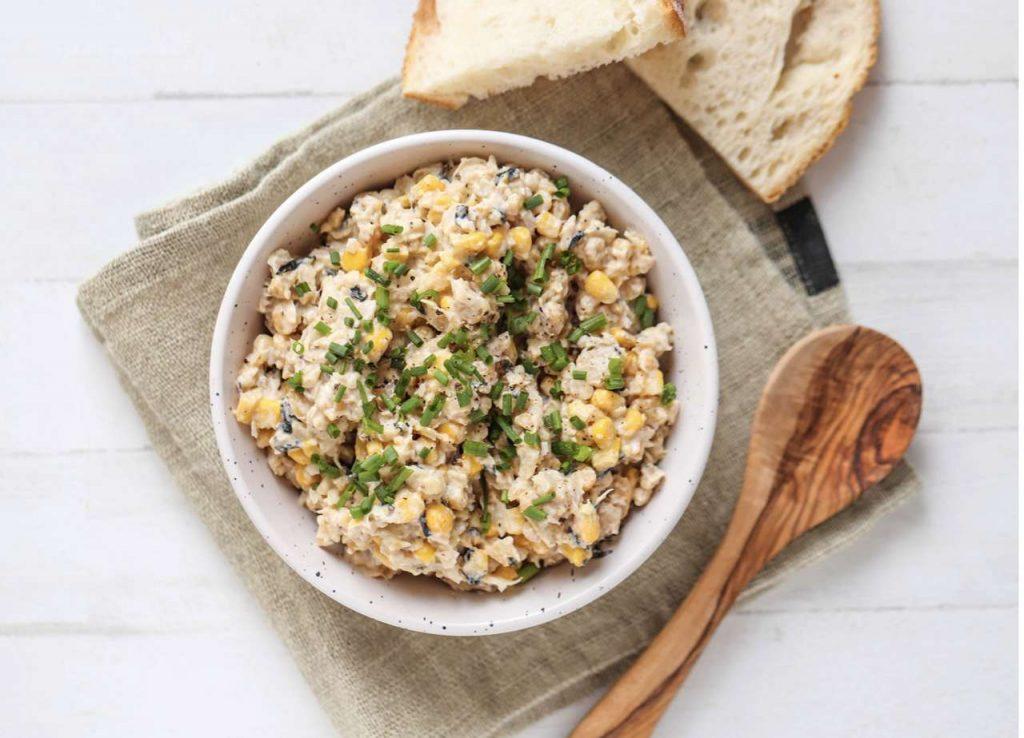 Muskelaufbau Rezepte Veganer Thunfisch Salat_
