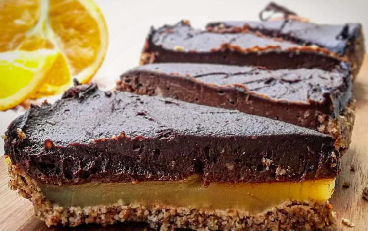 verstecktes-gemüse-Orangen-Schoko-Torte