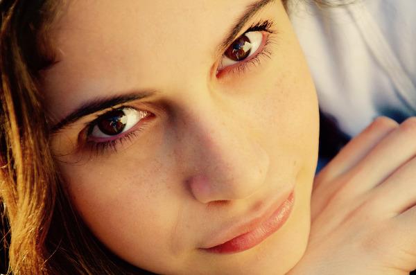 Schöne-Haut-Gesicht