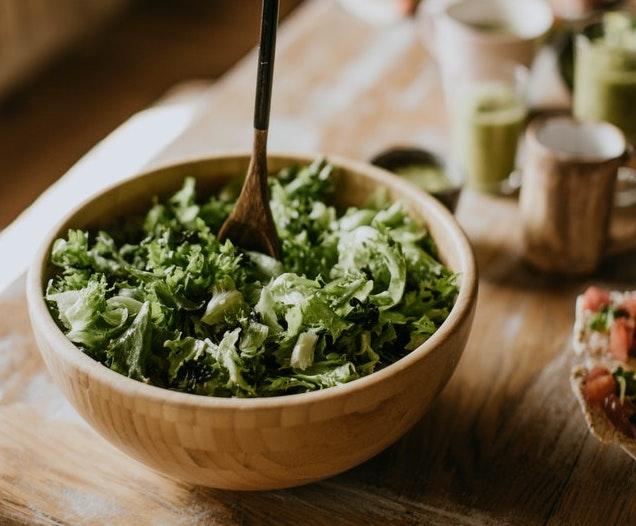 vegan caesars salad rohkost rezepte