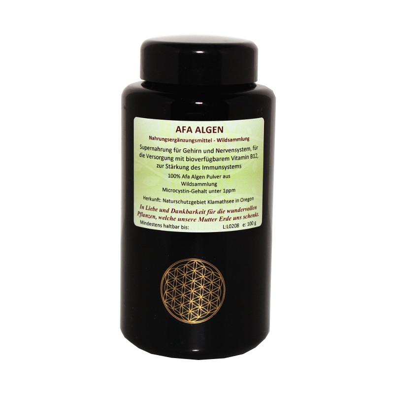 Afa-Algen Pulver Wildsammlung, Roh