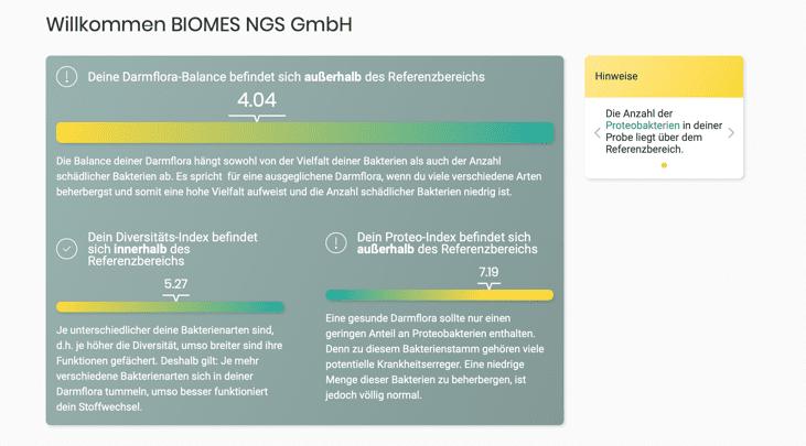 biomes-darmtest-ergebnisss