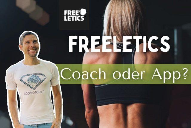 Freeltics App oder Coach Titelbild