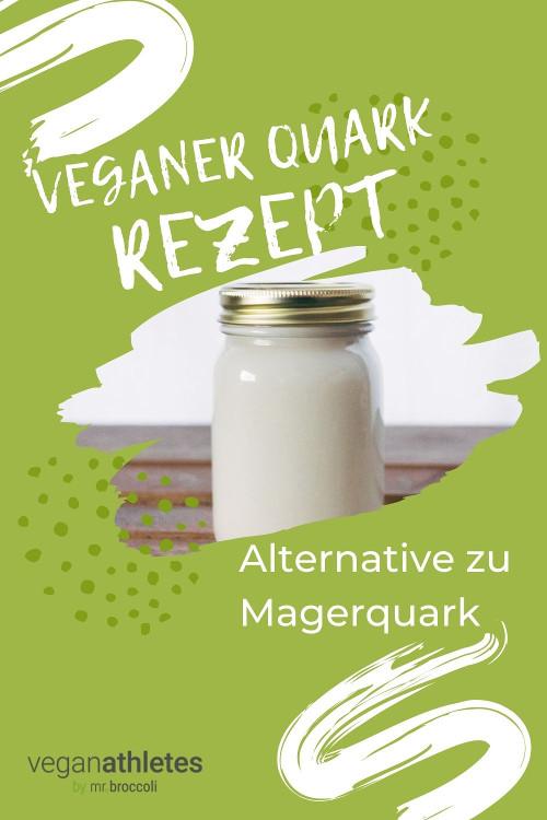 Veganer Quark - Magerquark Alternative
