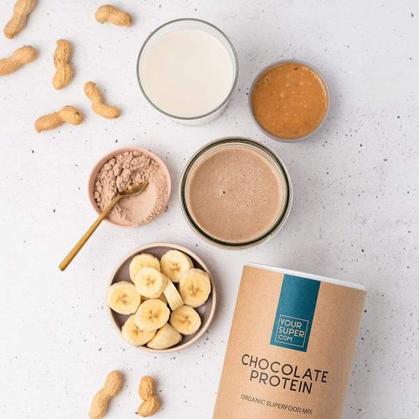 Your Superfoods Chocolate Protein Test und Geschmack