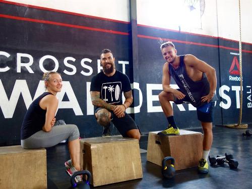 CrossFit vegan Workout