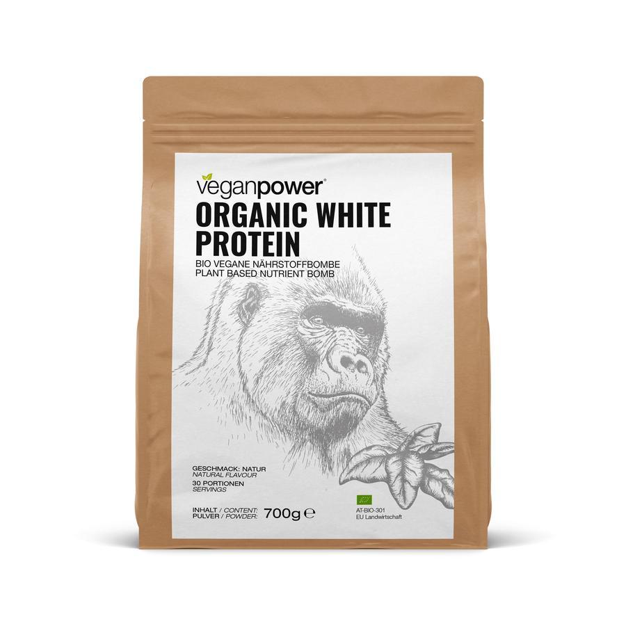 veganpower® Organic WHITE Protein