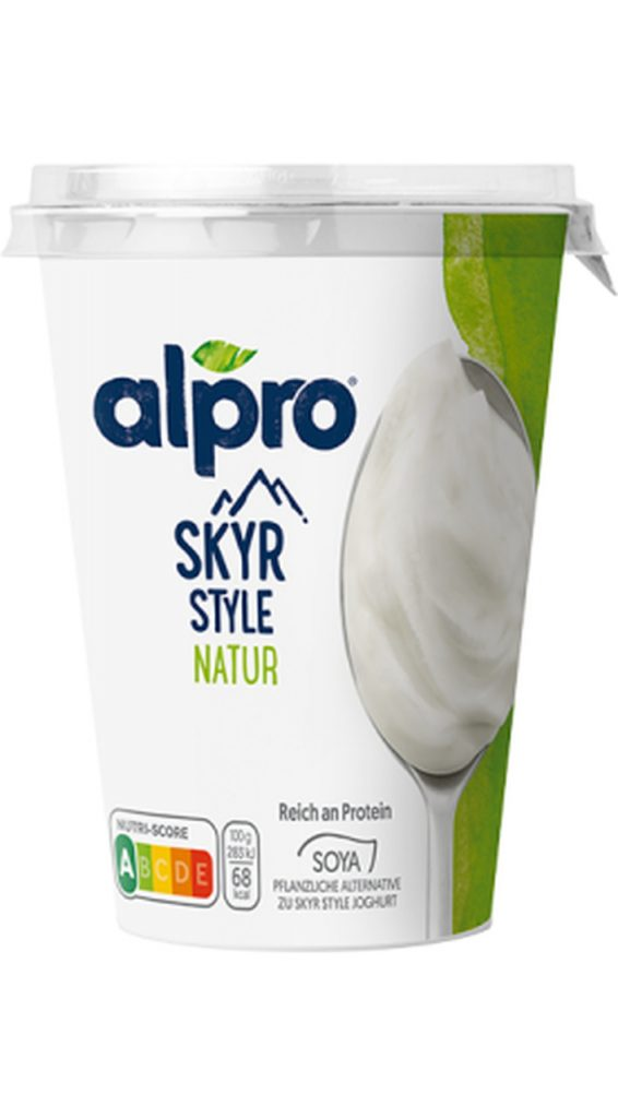 vegane Magerquark Alternativen Alpro Skyr Style