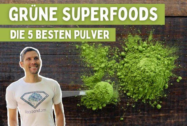 Grüne Superfoods Titelbild