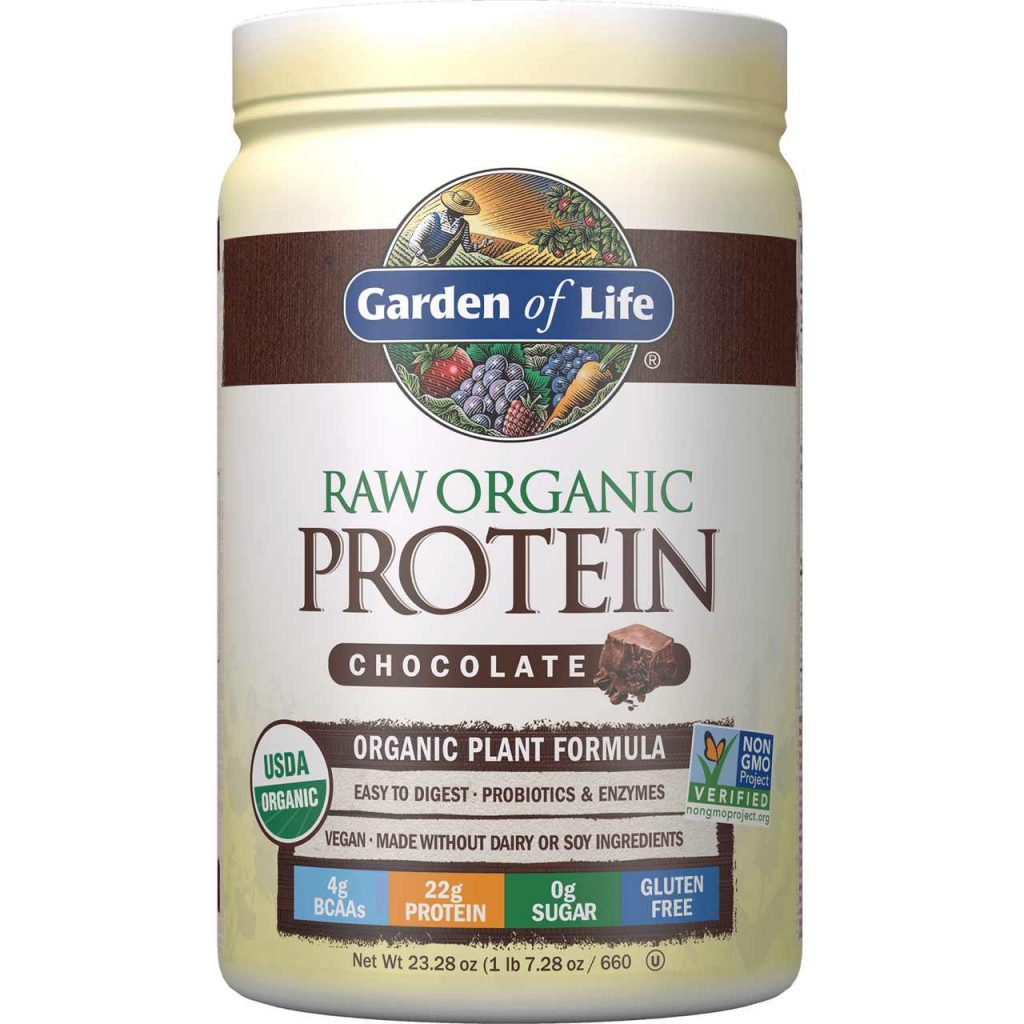 Raw Protein Test_Garden of Life