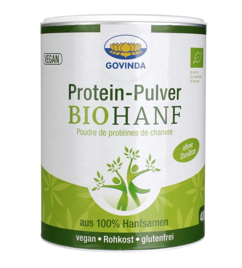 Raw Protein Test_Proteinpulver_Hanf_