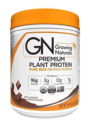 Raw Protein Test_Growing Naturals Reisprotein
