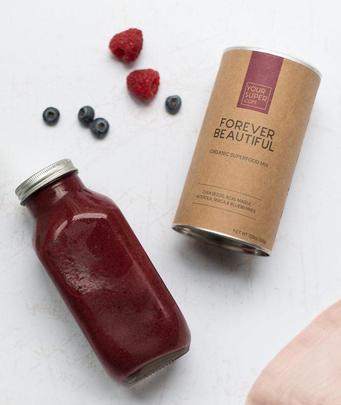 Superwoman Set von Your Superfoods Forever Beautiful