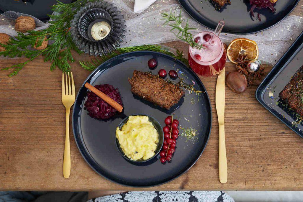 Würziger Maronen-Pilz-Braten_Weihnachts Rezepte
