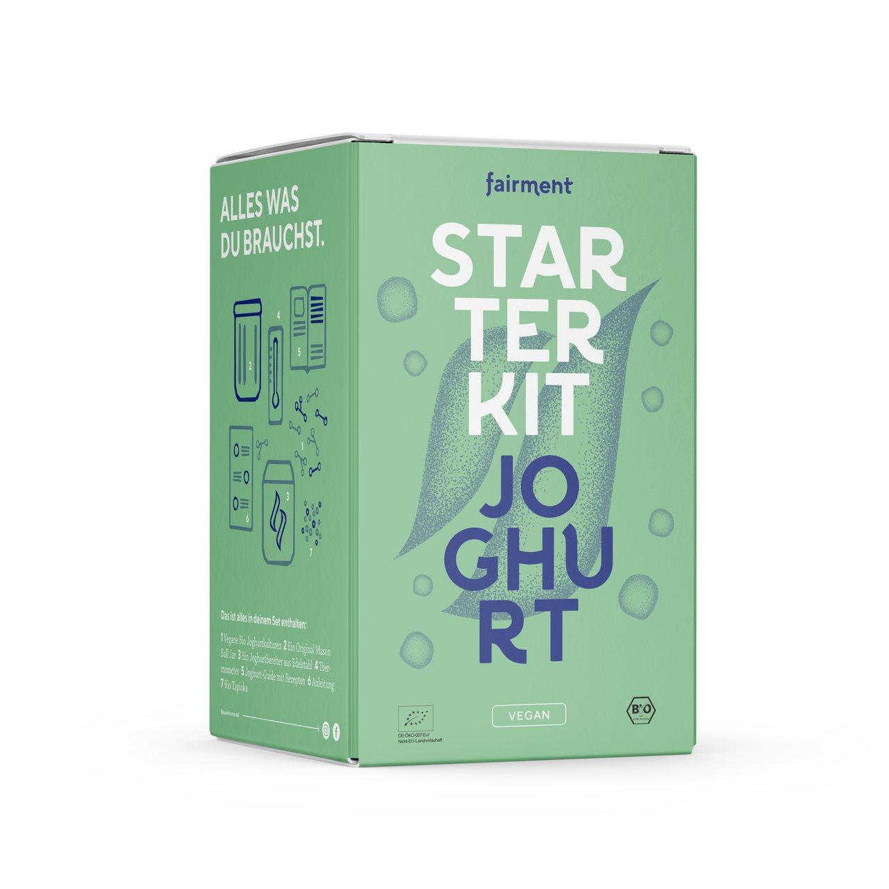 Veganer Joghurt Fairment Starter Kit