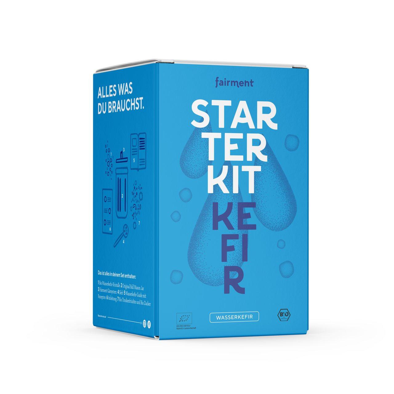 Kefir Fairment Starter Kit
