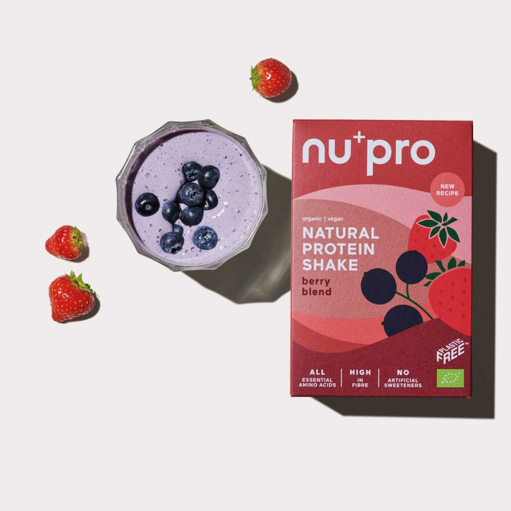 Nupro Berry Blend Proteinshake