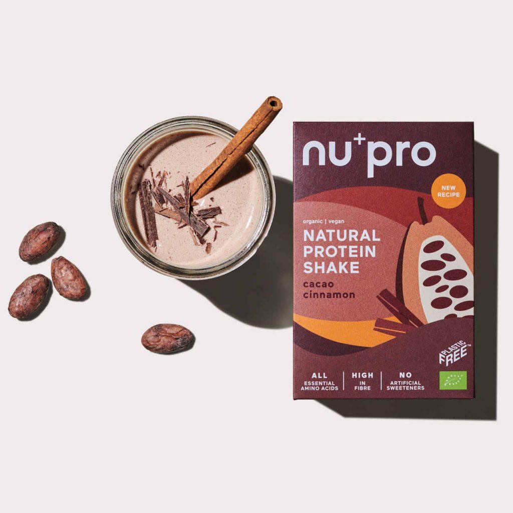 Nupro Cacao Cinnamon Proteinshake