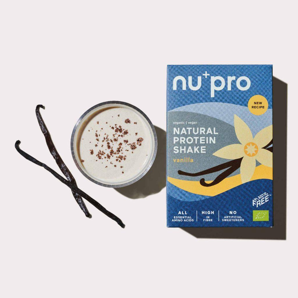 Nupro Vanilla Proteinshake