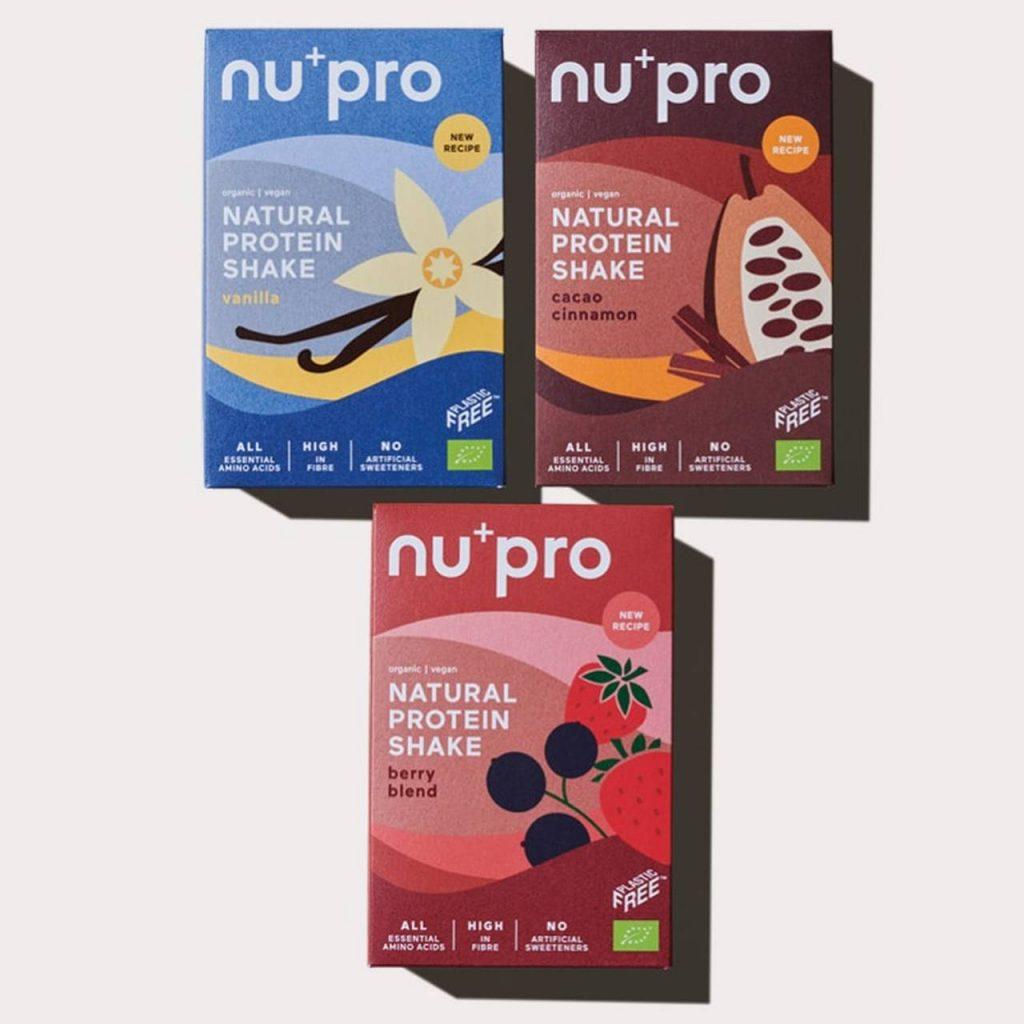 Nupro proteinshakes