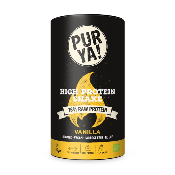 Vegan protein shake test PURYA