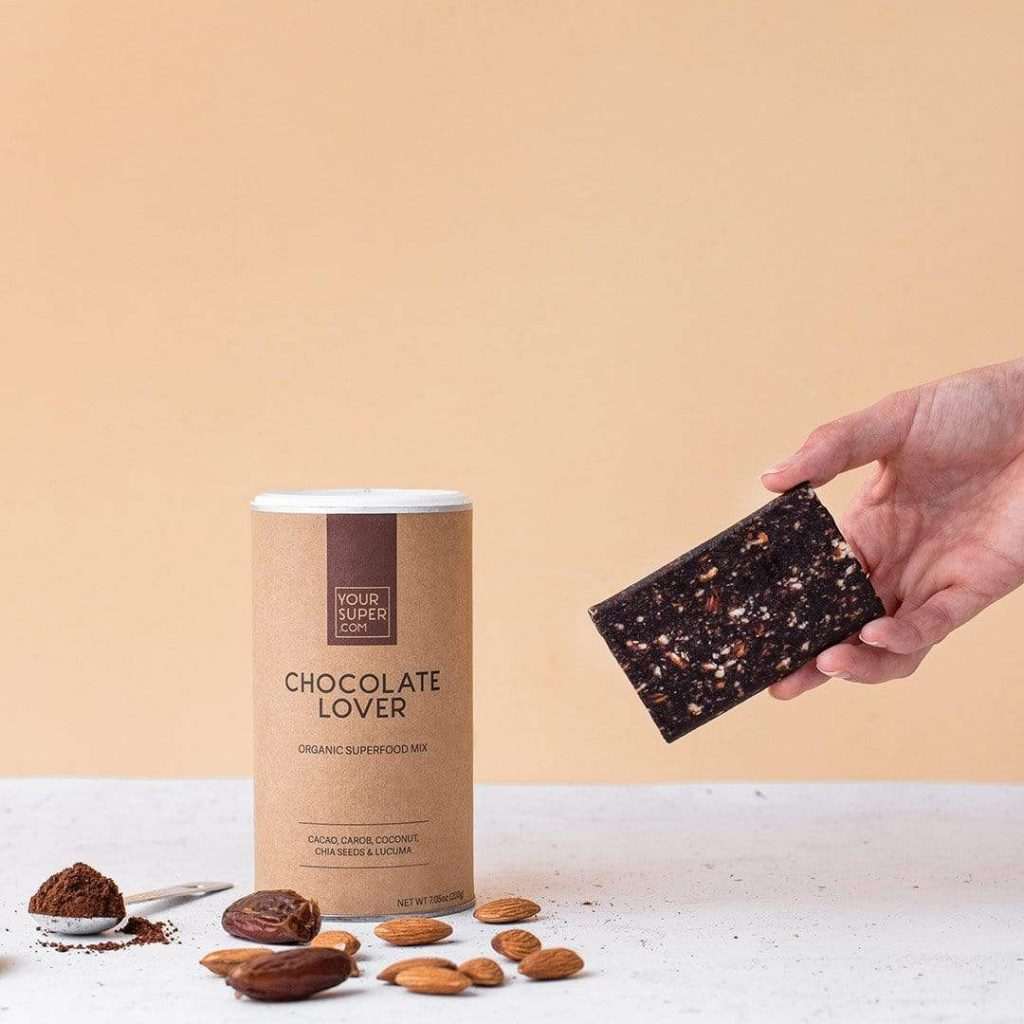 Vegane Geschenkideen für Sportler - Yoursuperfood Chocolate Lover Protein