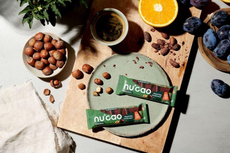 Vegane Geschenkideen nuCao Schokolade