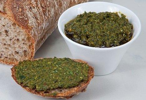 nicht vegan grünkohl Pesto rezept o