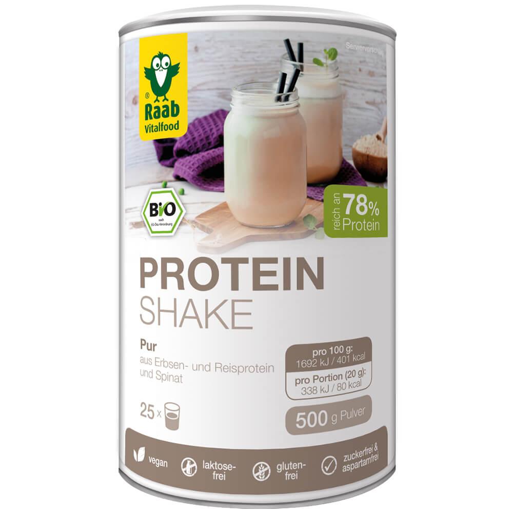 Raab Vitalfood Protein Shake Pur - 500g