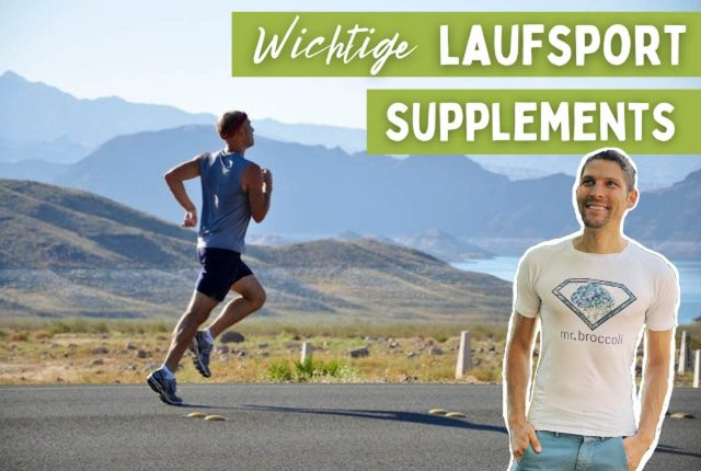 Wichtige Laufsport Supplements TITELBILD