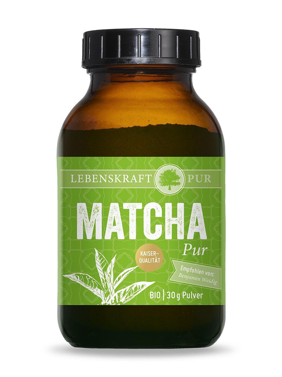 Bio Matcha Pur - Lebenskraftpur