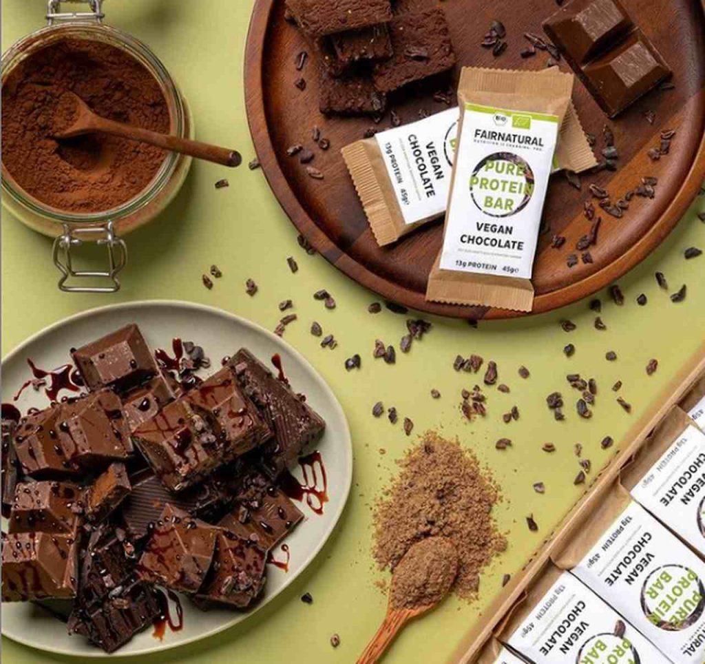 Fairnatural Erfahrung Vegan Chocolate Proteinbar Riegel