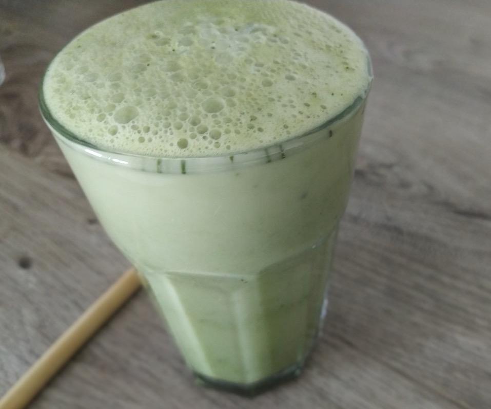Matcha Tee Test Rezept Latte