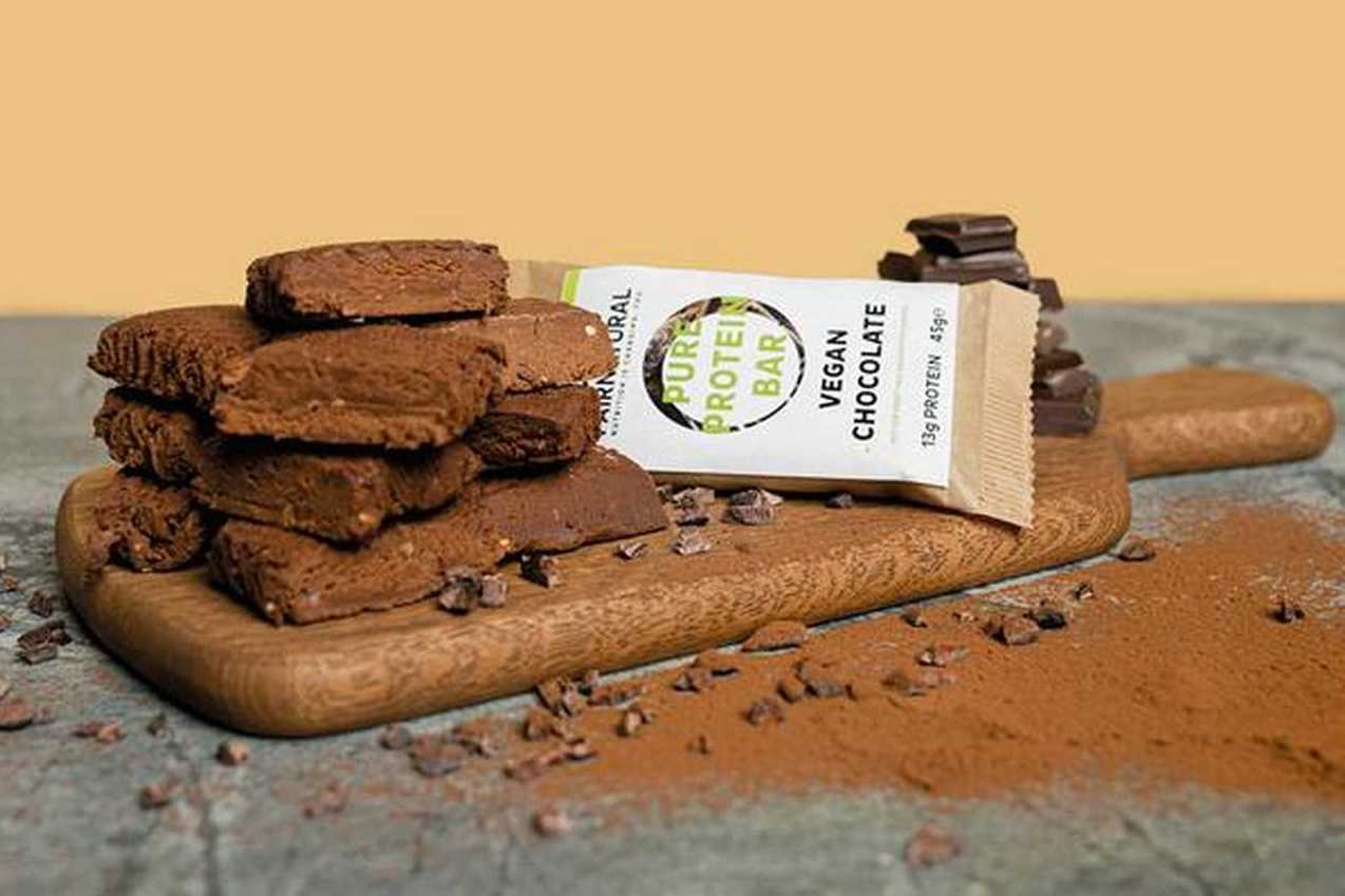 Vegan Chocolate Pure Protein Bar - Fairnatural (Preis pro 10er Box)