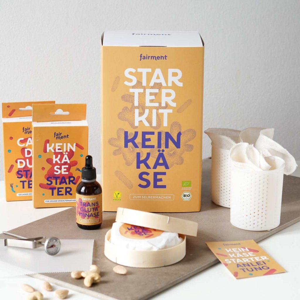 Cashew Käse Fairment Keinkäse Starter Kit