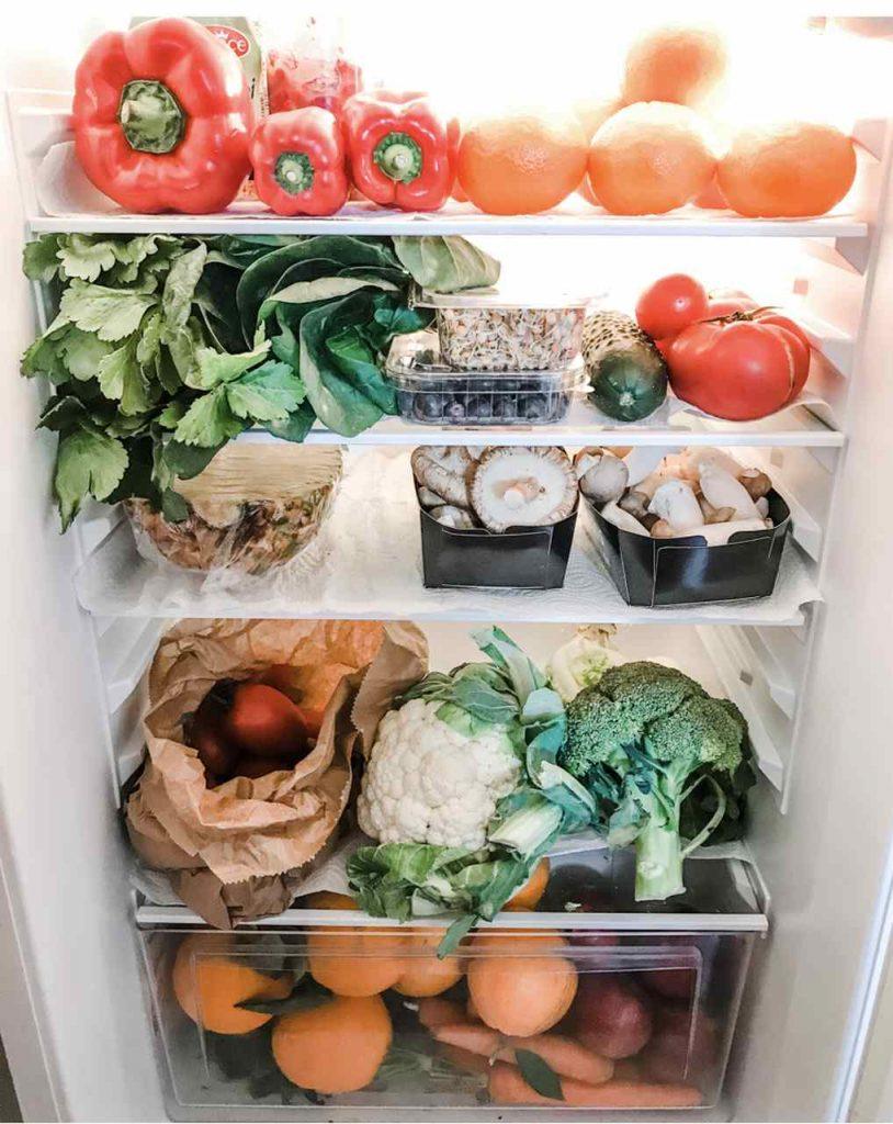 fettarme ernährung kühlschrank