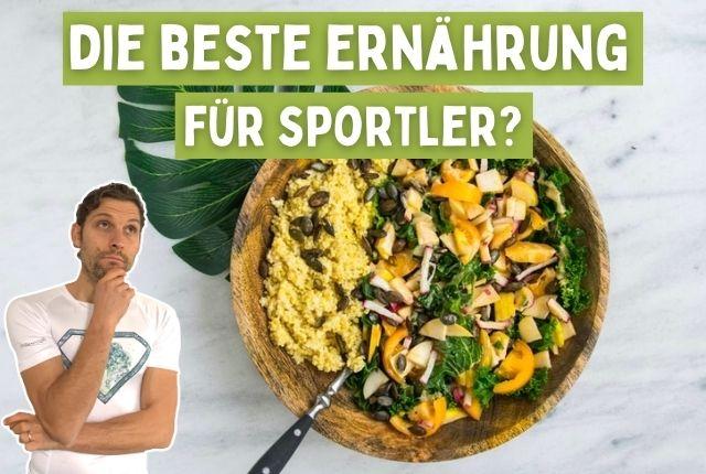 Titelbild gesunde ernährung für sportler