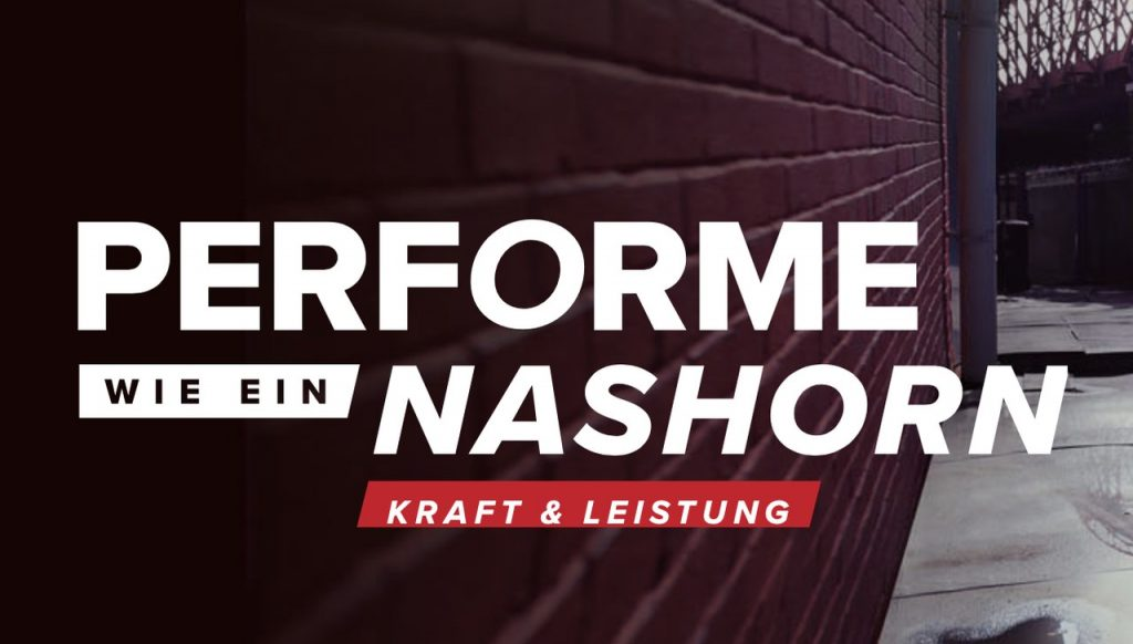 NASHORN Perform like an animal vivolife
