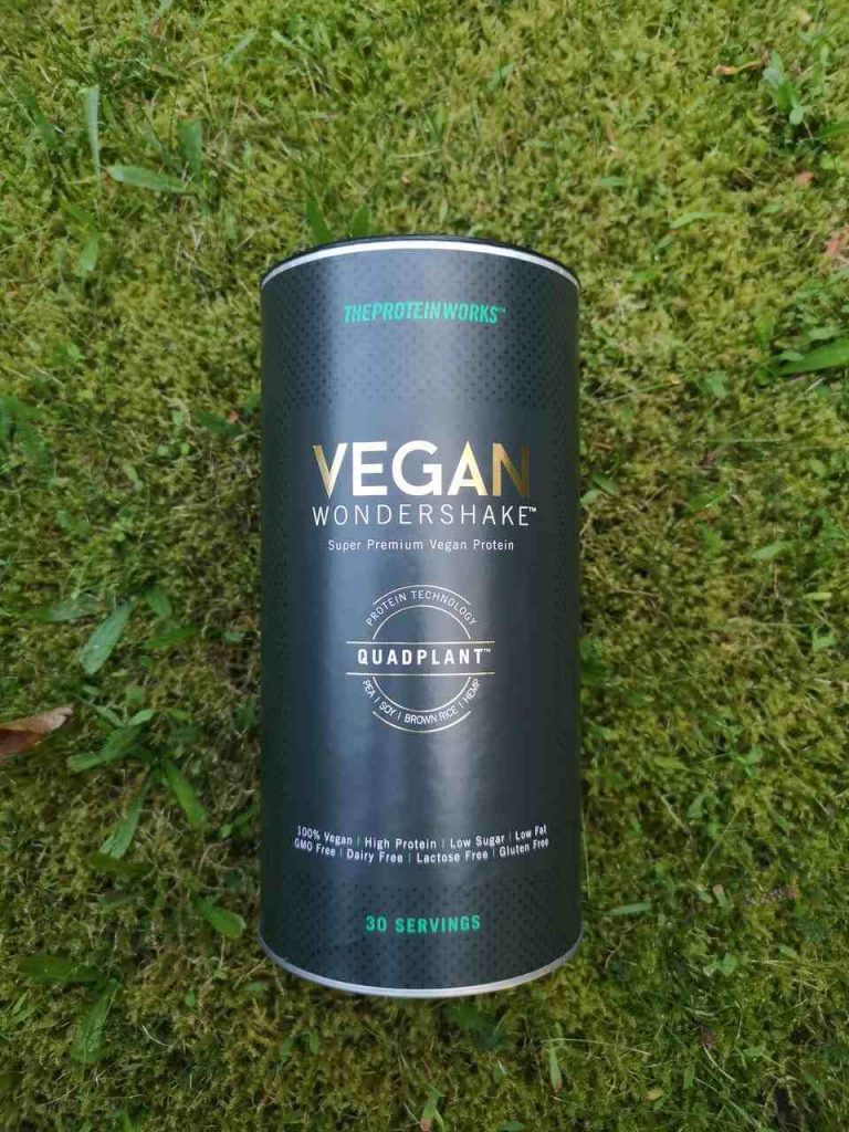 The Protein Works Test Wondershake Vegan