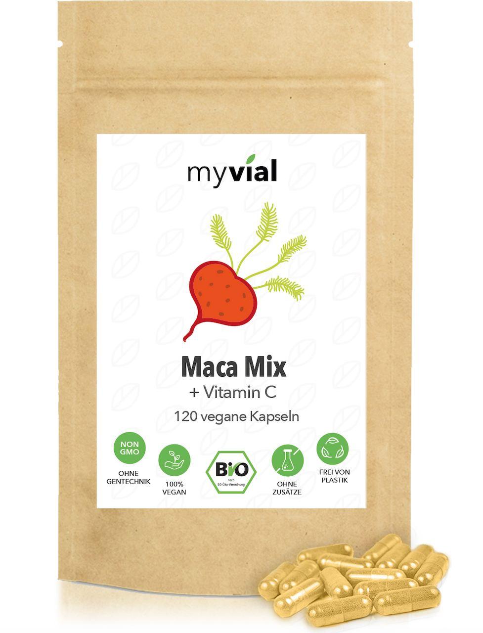 Myvial Maca Kapseln (120 Stück)