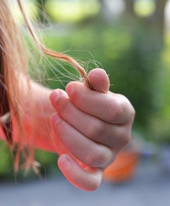 zinkmangel haare bild